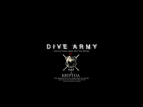 DIVE ARMY - Americas U.S Army Deep Sea Divers