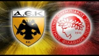 Aek-Olympiakos 3-2 Goals and highlights!!