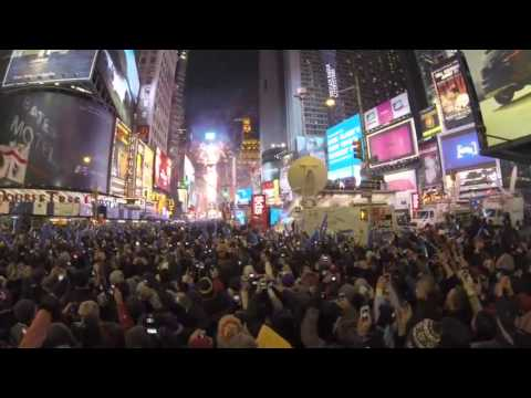 2017 NEW YORK Times Square New Year's Eve 2017