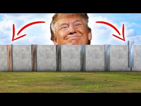 TRUMPS BUILD THE WALL SIMULATOR! - Random Games