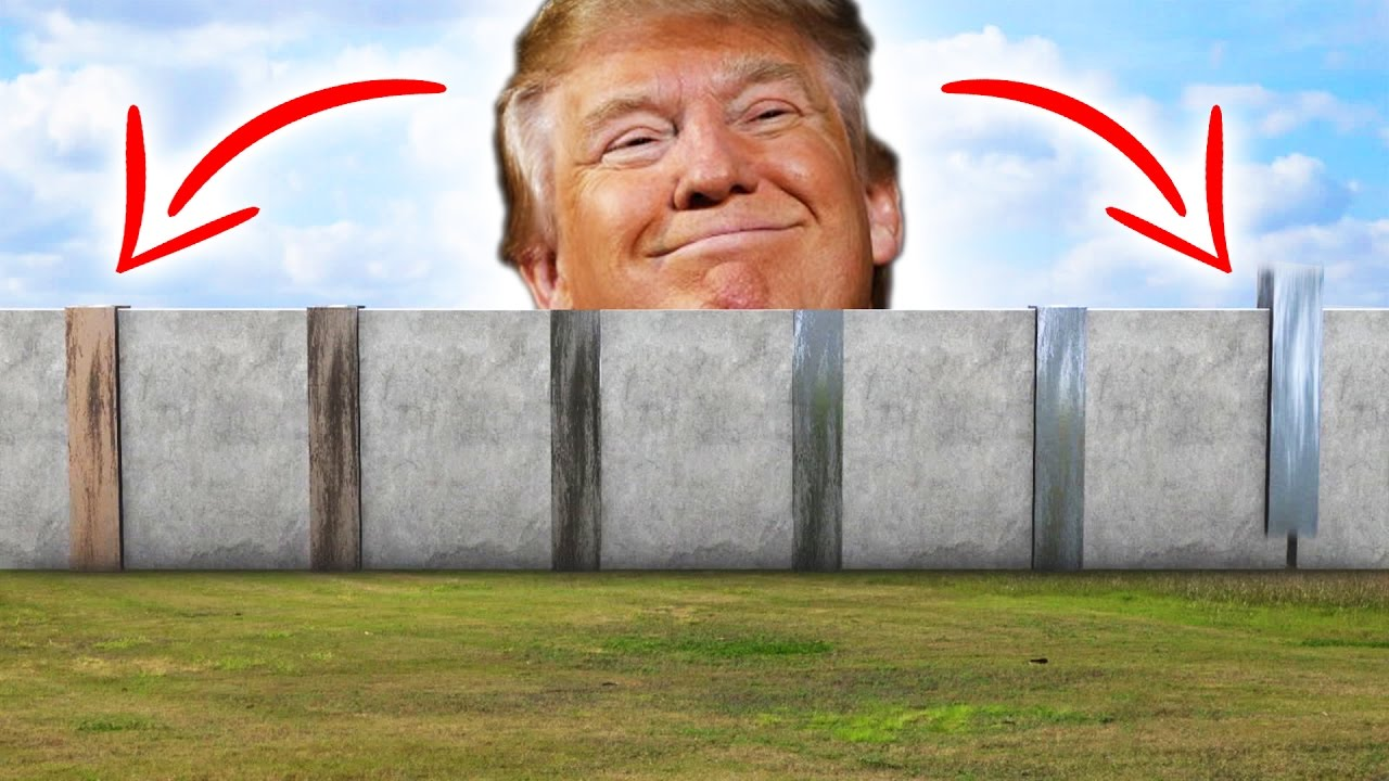 Image result for Trump and The Wall