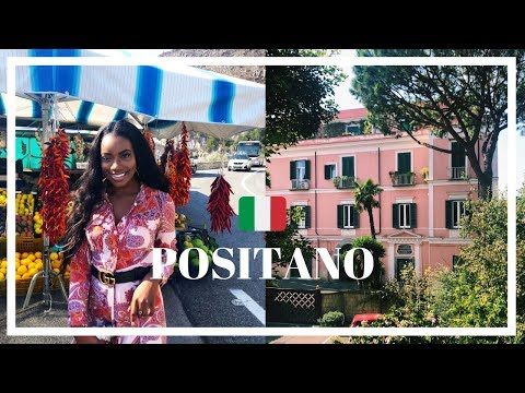 FINALLY IN POSITANO | ITALY TRAVEL VLOG 2018 | JADE VANRIEL