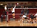 Postgame: Lafayette Volleyball vs. Army