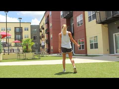 FSU DG Michelle Roque - Trick Shot Video