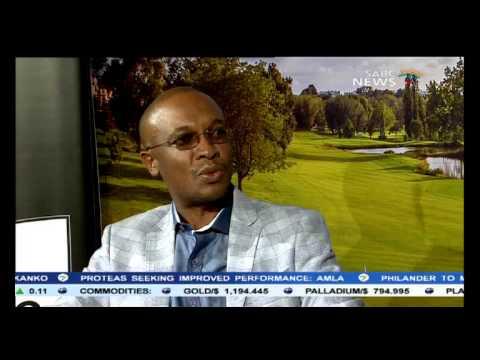 Mayor of Johannesburg Parks Tau on The Joburg Open