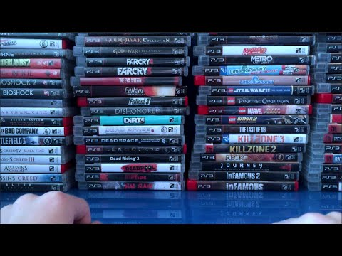 Ps3 game collection update August 2015