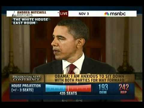 Obama Holds Post Midterm Election Press Conference - YouTube