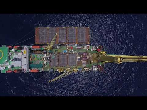 Sapura 3000 Heavy Lifting and Pipe Laying Vessel in Vietnam April 2018
