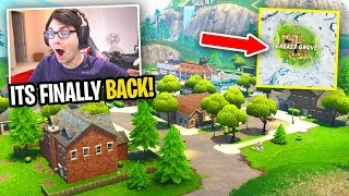 Greasy Grove is BACK IN FORTNITE! (Season 10 Map Update)