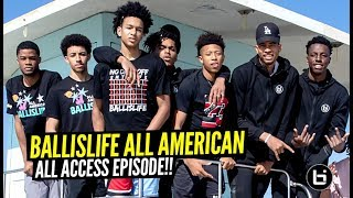 HS All Americans Got VICIOUS In DODGEBALL Game! 😂😂 2019 Ballislife All American ALL ACCESS Episode!