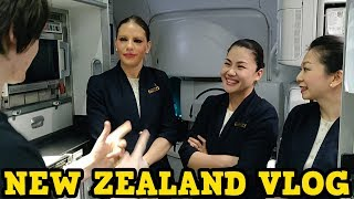 I Took The Longest Flight In The World.. To New Zealand!