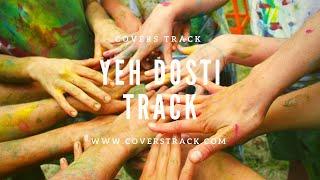 Yeh Dosti Hum Nahi Todenge Rahul Jain Karaoke Lyrical Track - Sholay | Piano Track | - Cover Tracks