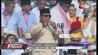 Kampanye Terbuka di GBK, Prabowo: Ibu Pertiwi Sedang 'Diperkosa'!!