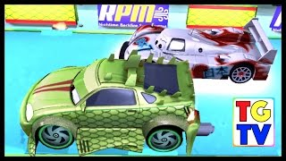 Cars: Fast as Lightning NEON RACING! Komodo 6/6 vs Shu (Final Race)