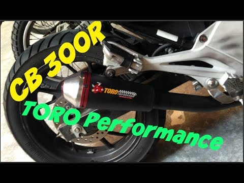 CB300R Escap Toro performance T1