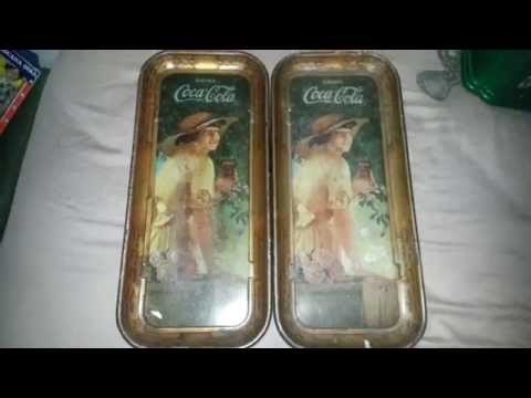 Antique Store/Antique Show Haul 1/18/15: Vintage Coca Cola Tray, Vintage Toaster, and More