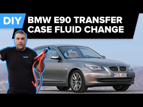 BMW E90 Transfer Case Fluid Change - Avoid Costly Repairs (3