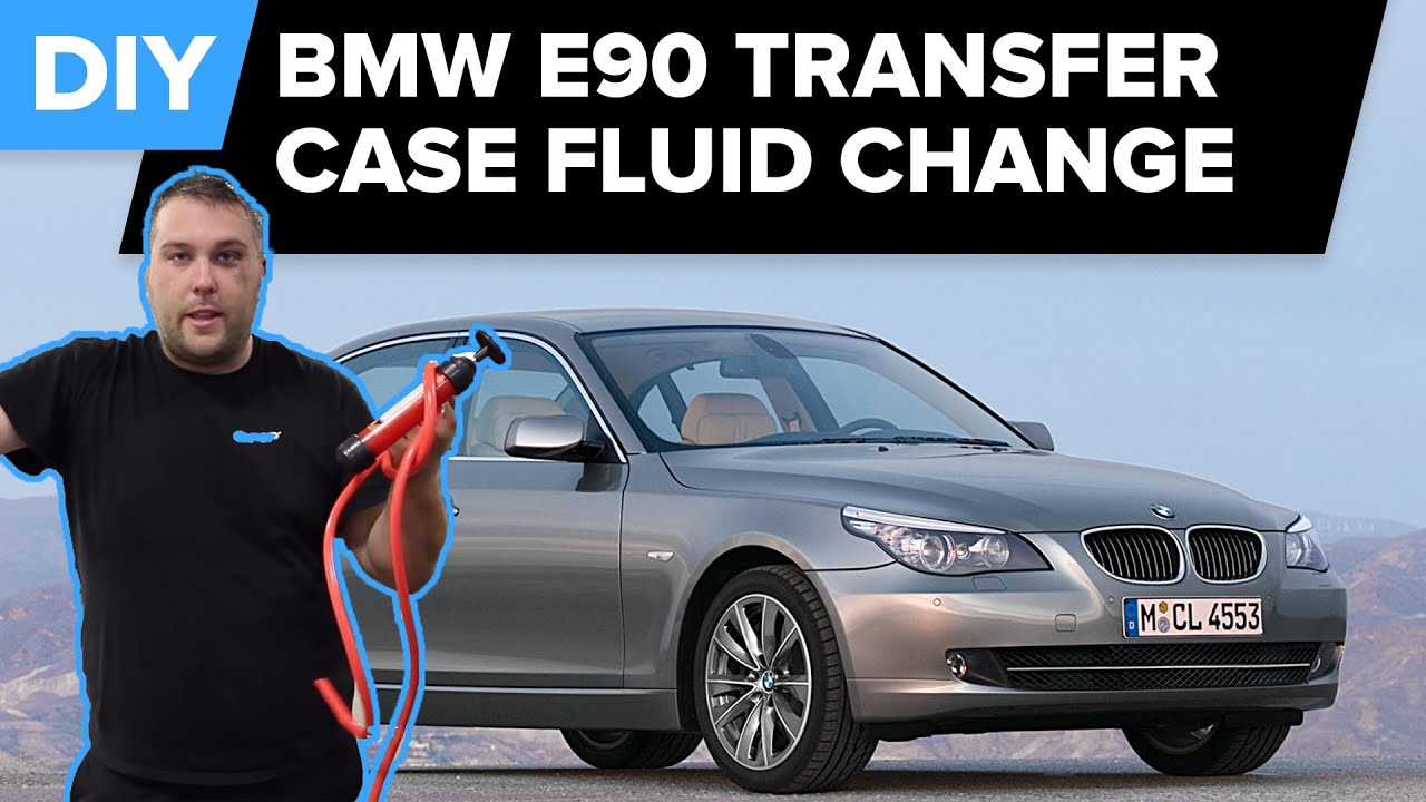 Bmw x3 transfer case fluid change