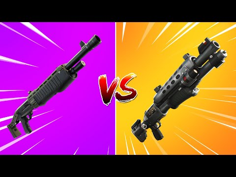 LEGENDARY PUMP SHOTGUN Vs. LEGENDARY TACTICAL SHOTGUN! (Testing Which Is BETTER?)