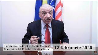 "Emisiunea ""În direct cu Sergiu Mocanu"" din 12 februarie 2020"