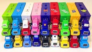 Тачки Игрушки Много Машинок Трейлеры Грузовики Побег из Коробки Игрушки Видео для Детей