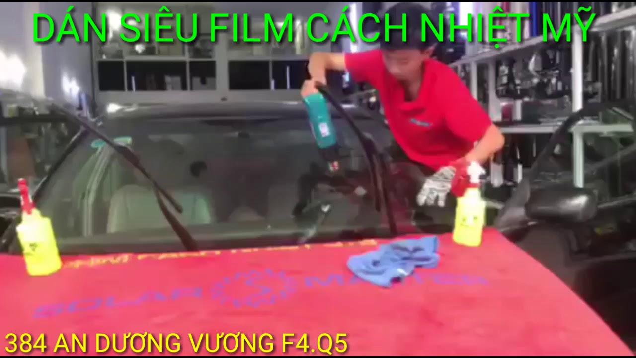 Dán film cách nhiệt mỹ các loại xe ô tô