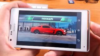 sony Xperia SP С5302 (3) Тест Игр