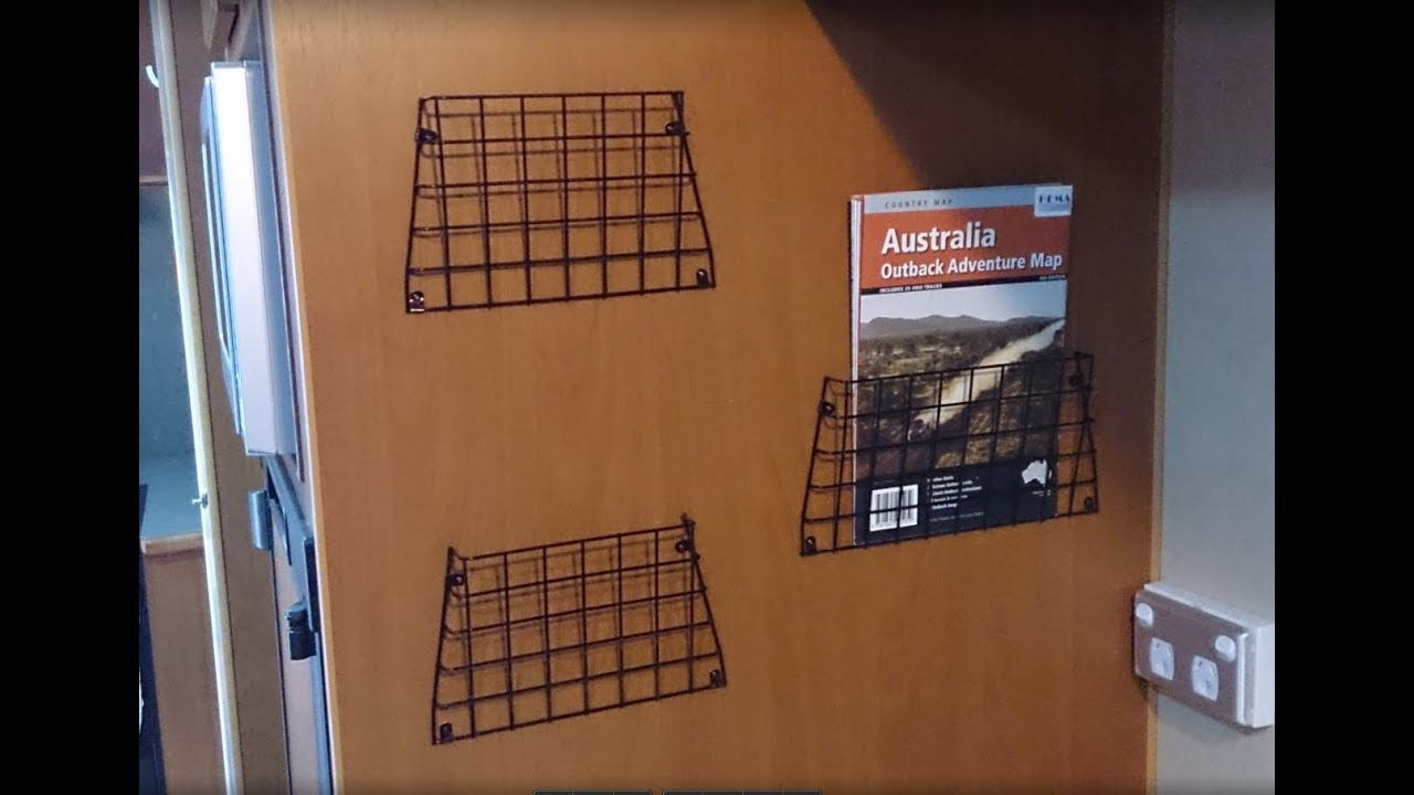 DIY project  I make a wire mesh Pamphlet  Tourist Brochure and Map     DIY project  I make a wire mesh Pamphlet  Tourist Brochure and Map holder  for our Caravan RV   YouTube
