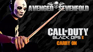AVENGED SEVENFOLD - Carry On - Drum Cover (2020) | Song from Call of Duty: Black Ops II