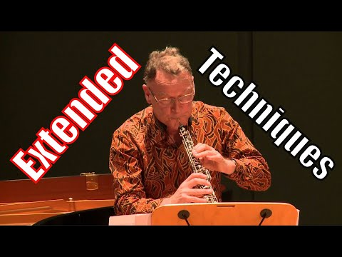 Contemporary Oboe Techniques - A Guide for Composers (Part I)