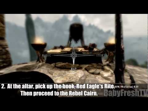 Skyrim: Getting Red Eagle's Fury/Bane Weapon Tutorial