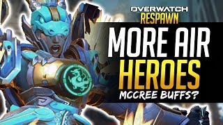 Overwatch Respawn #4 - More Flying Heroes? Lowest skill character?