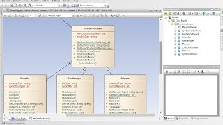 How to create Class Diagram from code | Enterprise Architect
