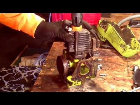 how to fix a scored piston