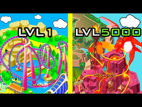 MAX LVL 5000 !!! UNLIMITED Money Hack !!! Idle Theme Park Tycoon !!! Buying ALL Islands