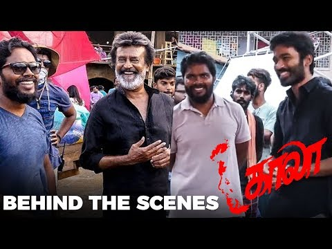Kaala - Behind The Scenes | Rajinikanth | Theruvilakku Song