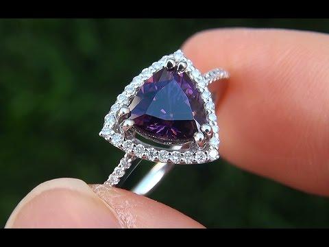 Resultado de imagen para purple spinel rings