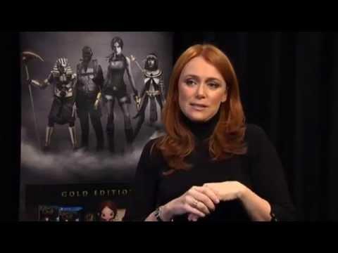 Keeley Hawes talks about voicing Lara Croft