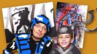 Битва Игр Mortal Kombat vs Shadow Fight, РыбаКит