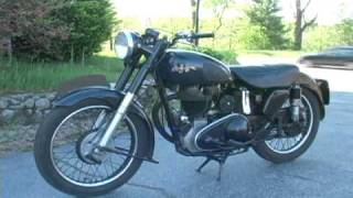 1952 JSA 500 cc British Motorcycle