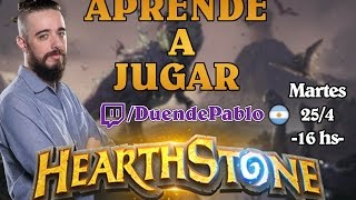 APRENDE A JUGAR HEARTHSTONE - Tutoriales Hearthstone #0