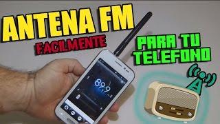ANTENA RADIO FM PARA SMARTPHONE DE CUALQUIER MARCA