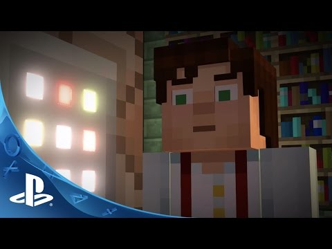 Minecraft: Story Mode Teaser Trailer   PS4, PS3