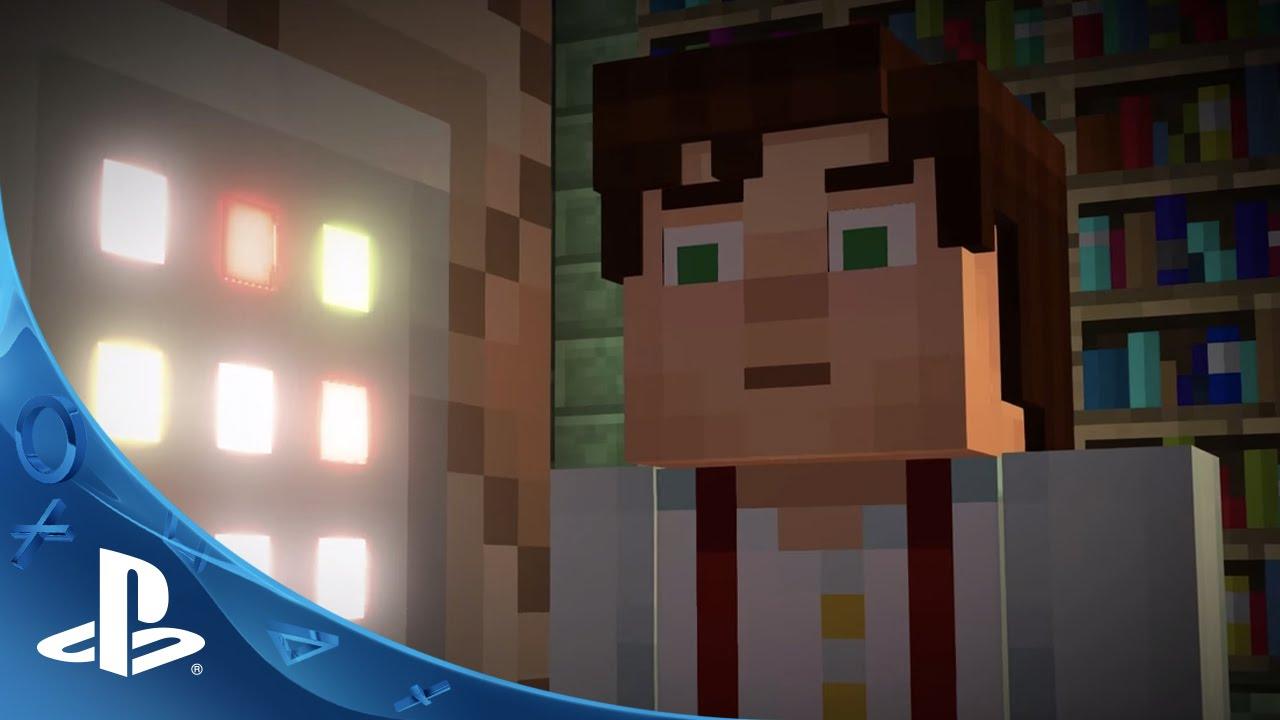 Minecraft Story Mode Teaser Trailer PS PS YouTube - Minecraft die grobten hauser