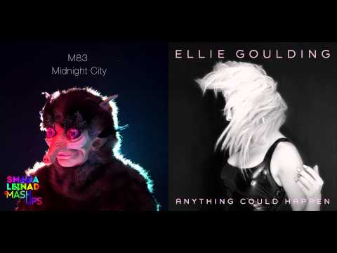 M83 vs. Ellie Goulding - Anything Could Happen At Midnight