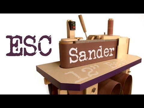 ESC Sander - DIY Edge Sander and Spindle Sander