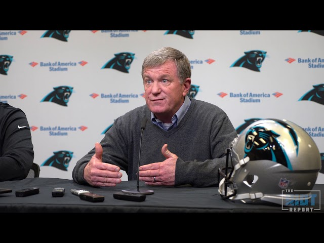 Ron Rivera and Marty Hurney Talk Panthers' Draft Needs
