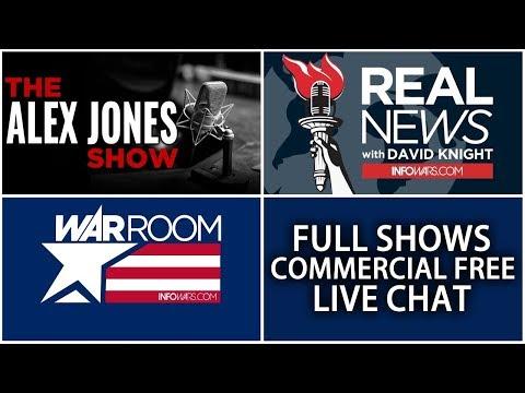 LIVE 🗽 REAL NEWS with David Knight ► 9 AM ET • Friday 4/13/18 ► Alex Jones Infowars Stream
