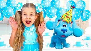 Diana and Roma celebrate Blue's Birthday