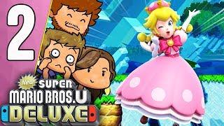 ELENA NE FAIT AUCUN EFFORT ! 😭   New Super Mario Bros. U Deluxe Ep.2